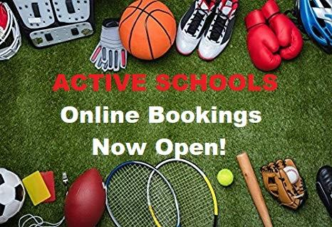 Active Schools Online Bookings – St David's