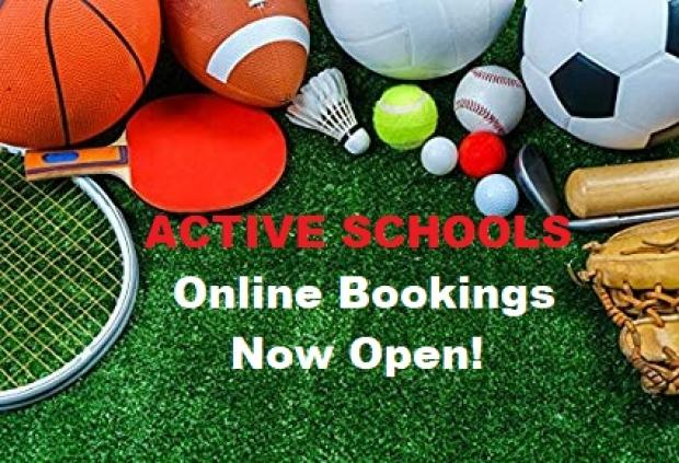Active Schools Online Bookings  St David\'s