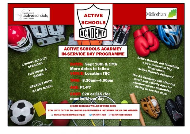 Active Schools Academy – In-service Day Programme
