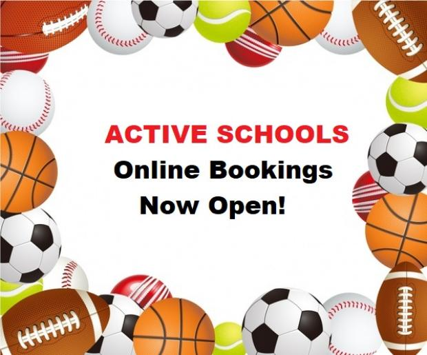 Active Schools Online Bookings – Penicuik